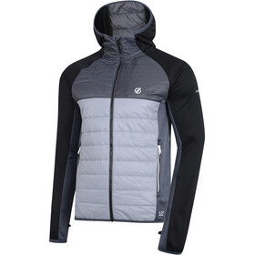 Dare 2b Coordinate Wool Hybrid Jacket Men, trail blaze/black/ebony grey